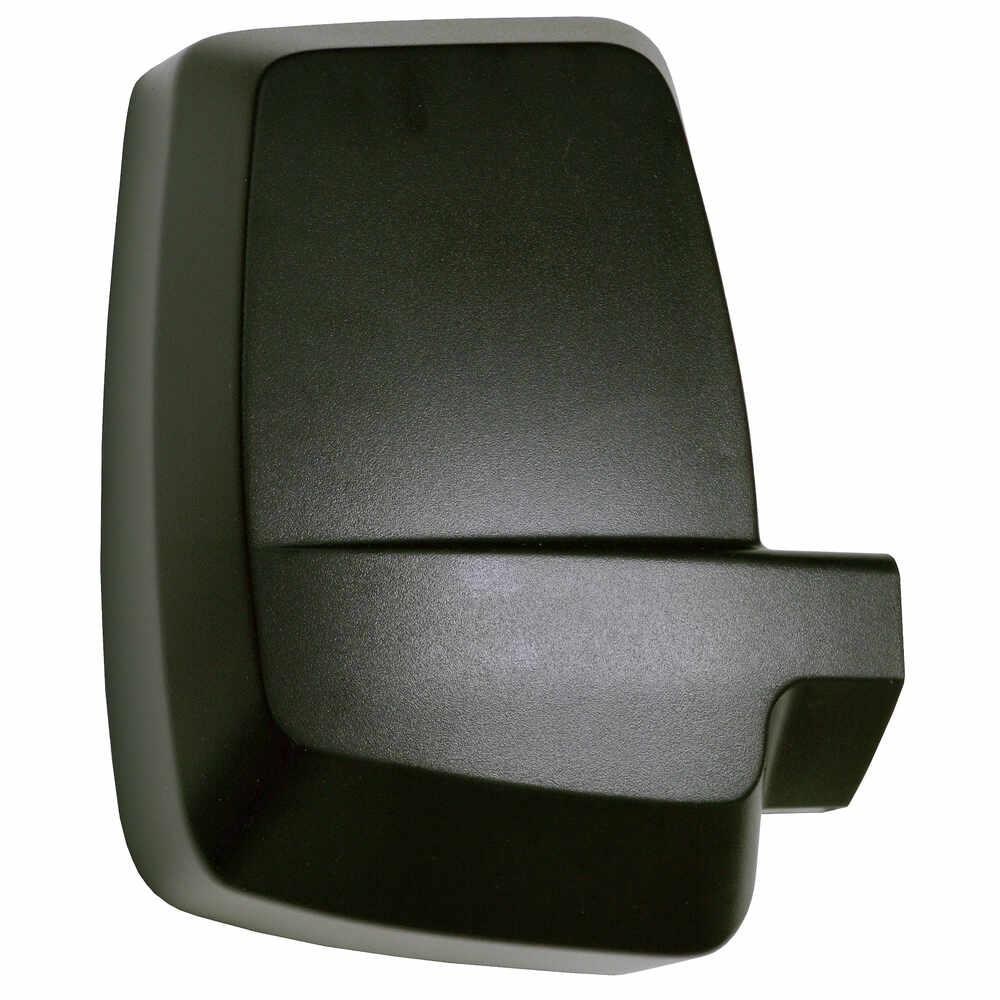 Right 2020XG Deluxe Manual Mirror Head - Black - Velvac