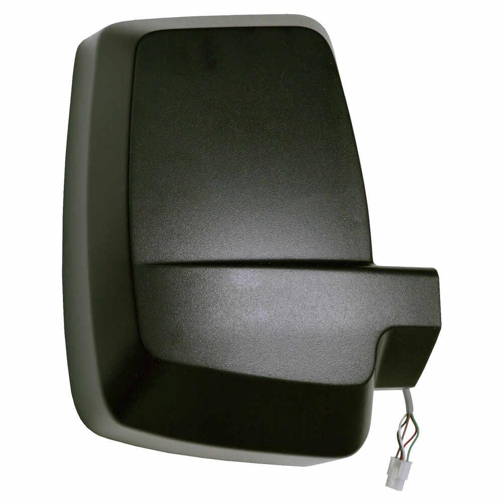 Right 2020XG Heated Remote / Manual Mirror Head - Black - Velvac