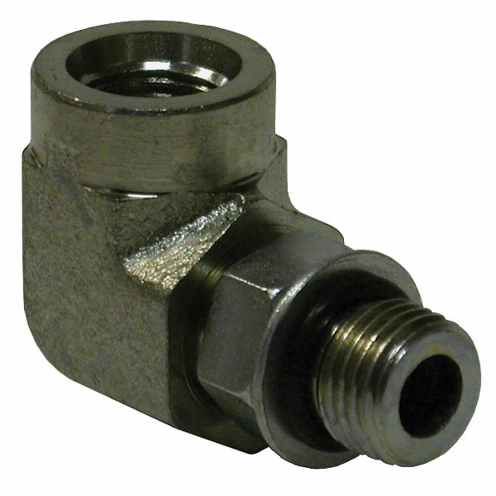 """Rigid Elbow with 9/16""""-18 Thread - Replaces Meyer 22460"""