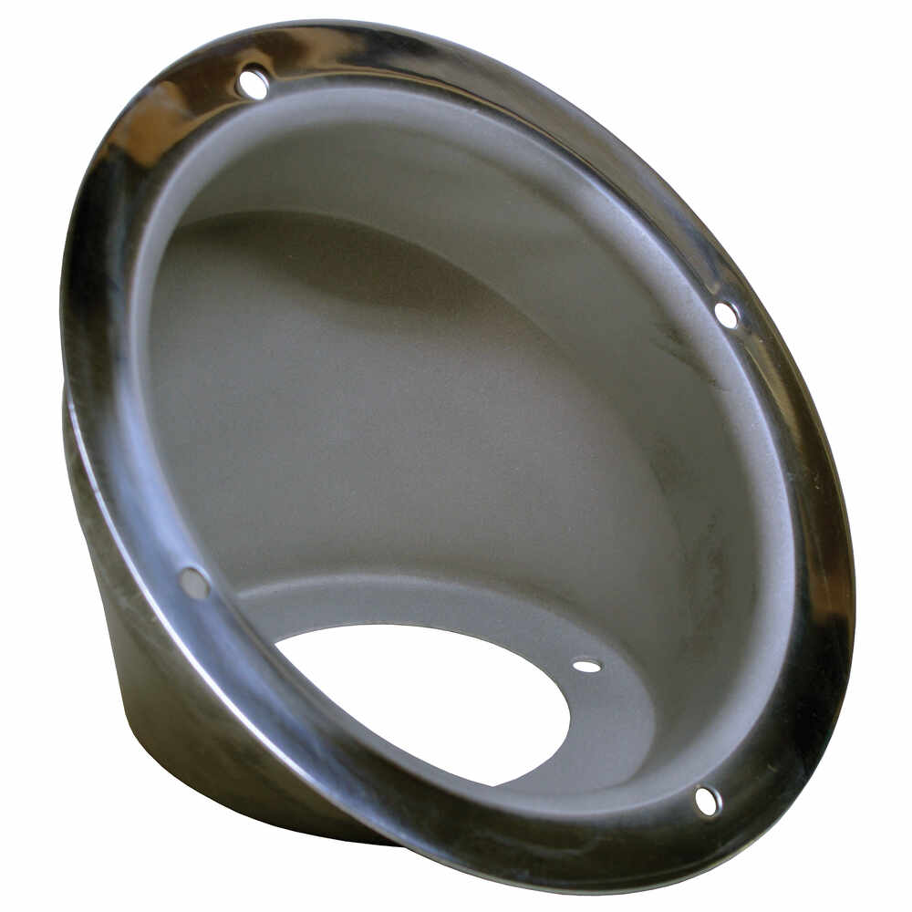 Round Fuel Filler Dish - Stainless Steel