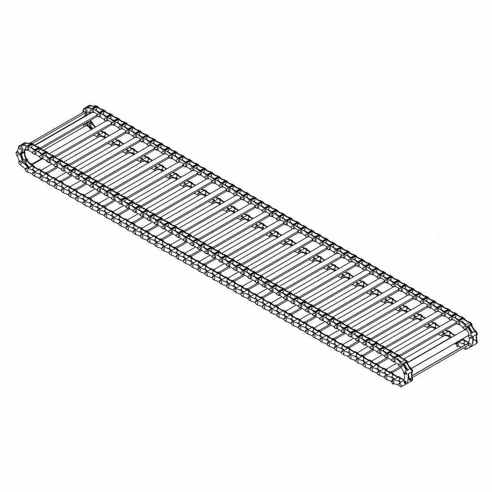 Salt Spreader Conveyor Drag Chain for Hiniker 8 Foot Spreader 1453110