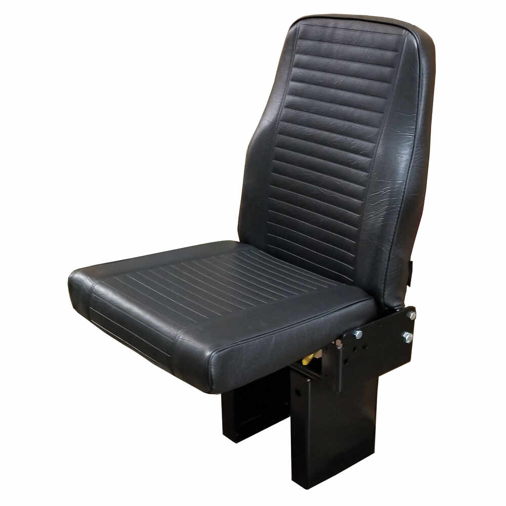 "Single Seat ""Handi-Flip"" Passenger Seat - Vinyl"