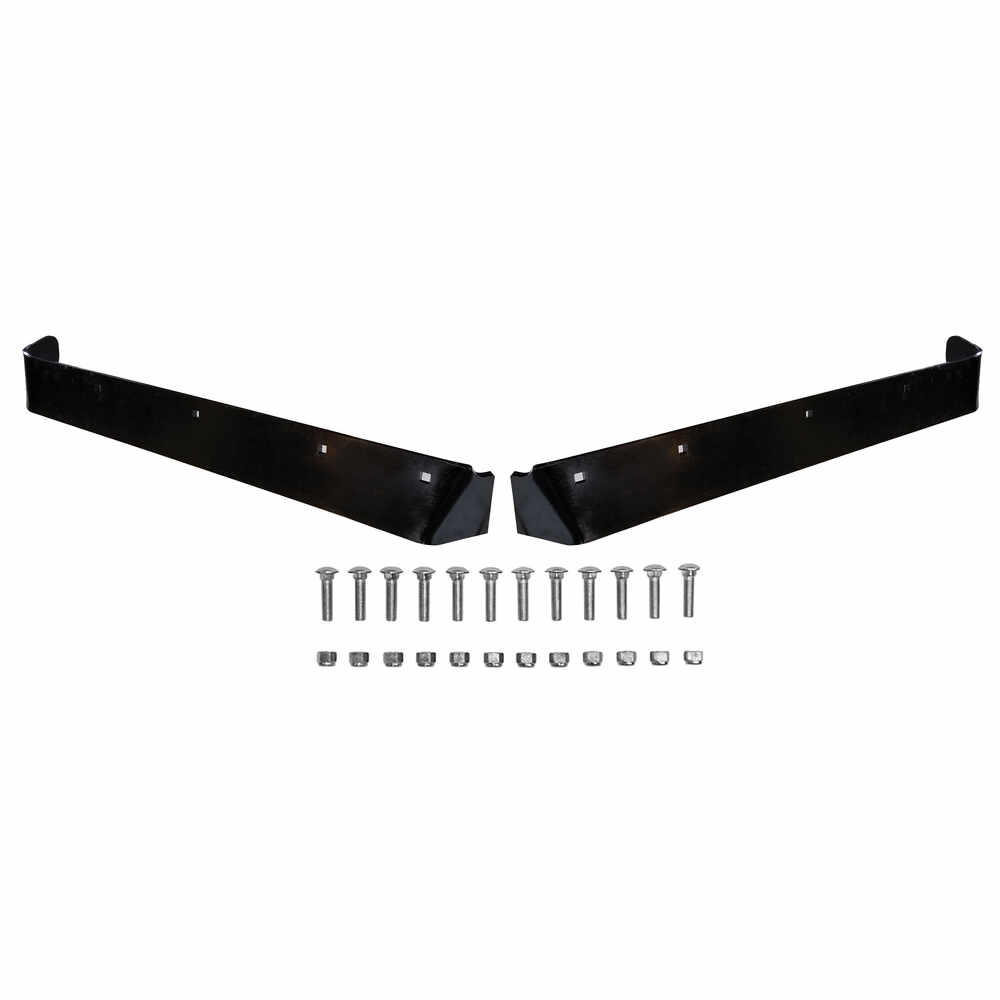 """Steel Cutting Edges & Mounting Hardware Kit, fits 8'-2"""" Formed V-Blade DXT Snow Plow"""