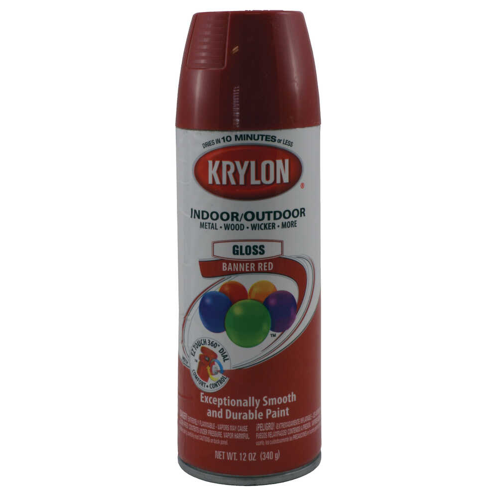 Touch Up Paint Banner Red