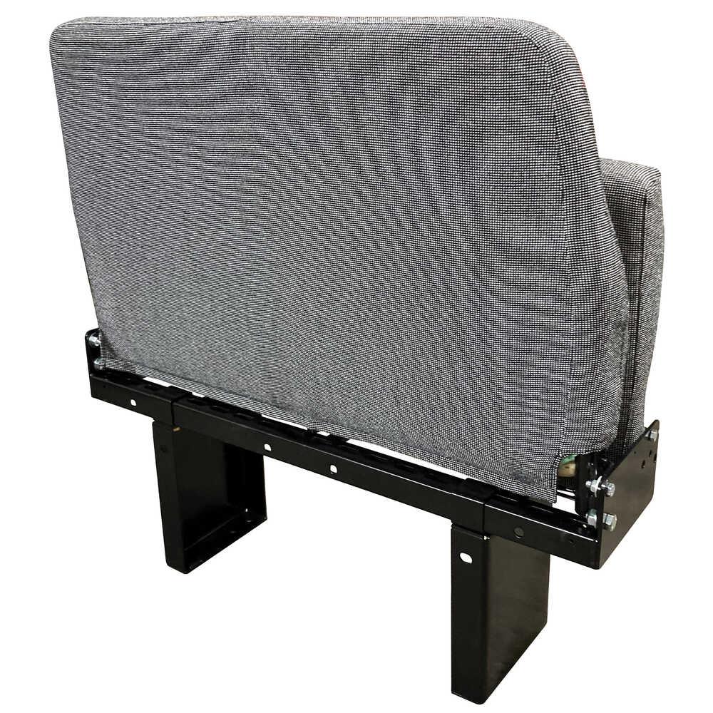 "Two Seat ""Handi-Flip"" Passenger Seat - Cloth"
