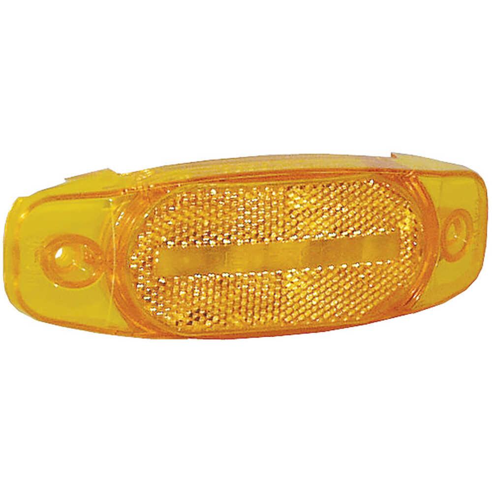 Yellow 'Hard Hat' Marker Light